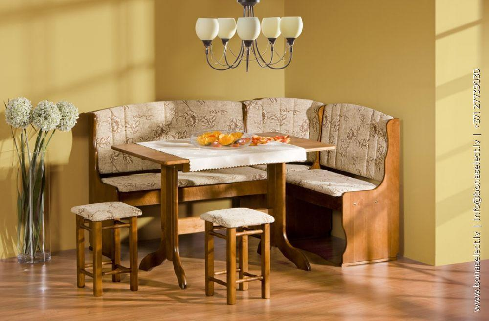 Virtuves stūra dīvāns Maxi 2