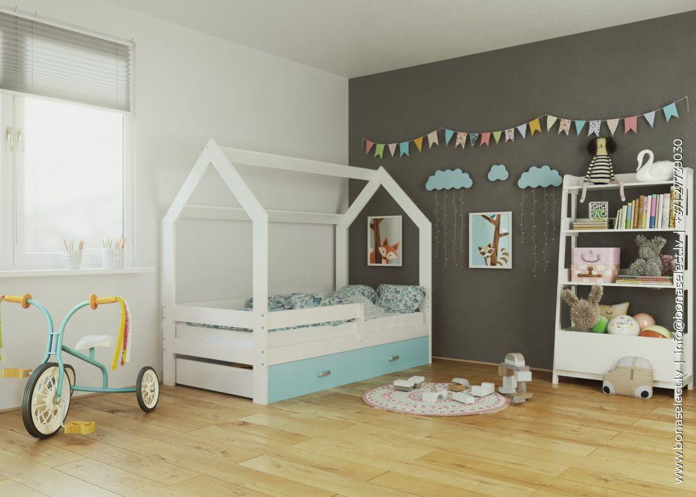 Детская кровать Young со стеллажом