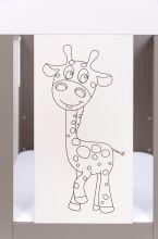 Giraffe Comfort ar stelāžu