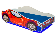 Car 2 Spider ar LED un stelāžu