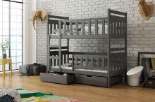 Bērnu gulta   Tom Bunk ar stelāžām