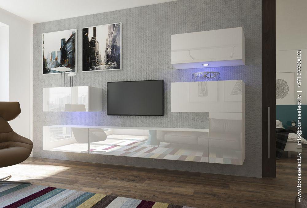 TV galdiņš Next 123 ar LED