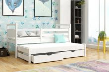 Divstāvu gulta   Mateusz ar stelāžām