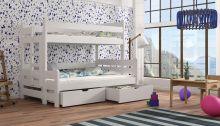 Divstāvu gulta   Bingo ar stelāžām