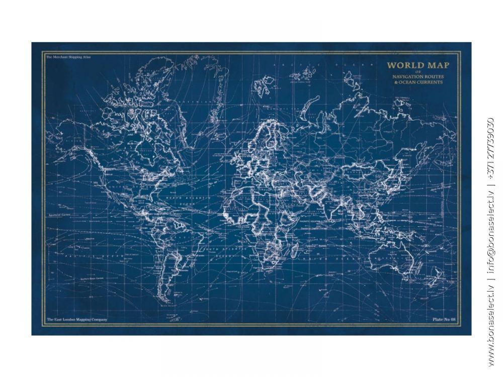 Glezna Map