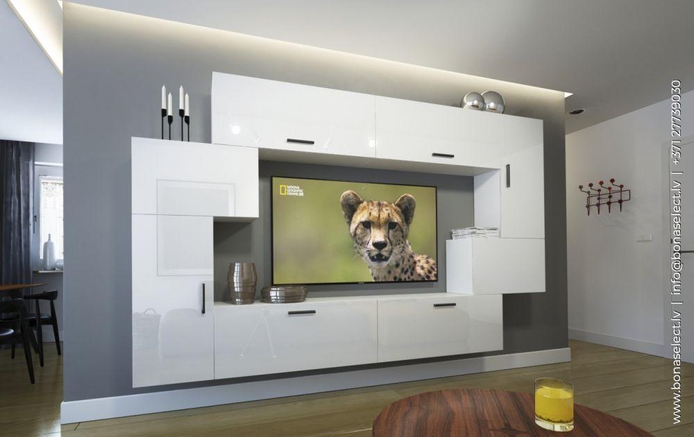 TV galdiņš Next 6 ar LED