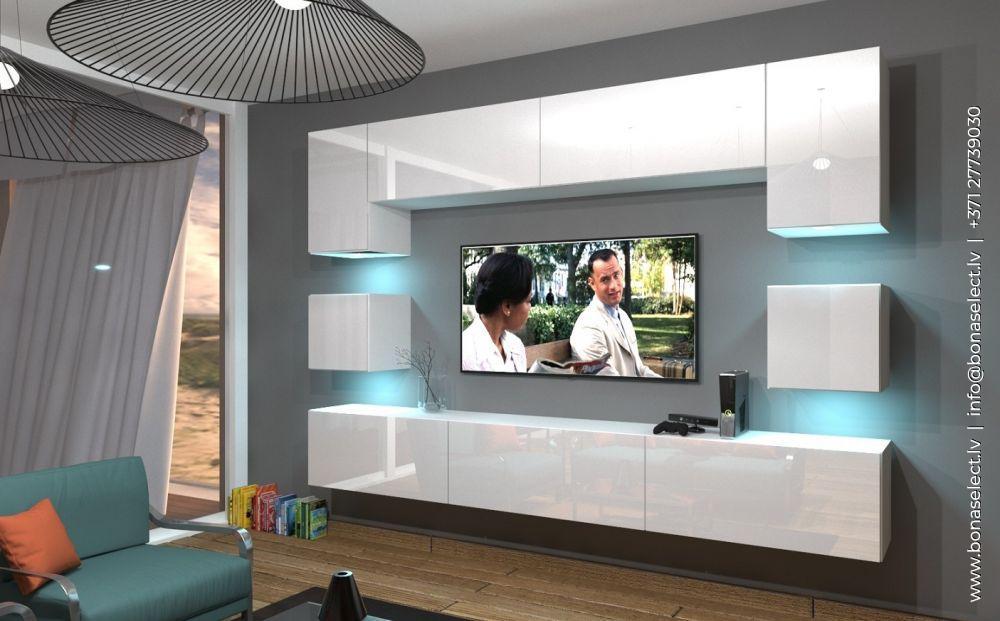 TV galdiņš Next 1 ar LED