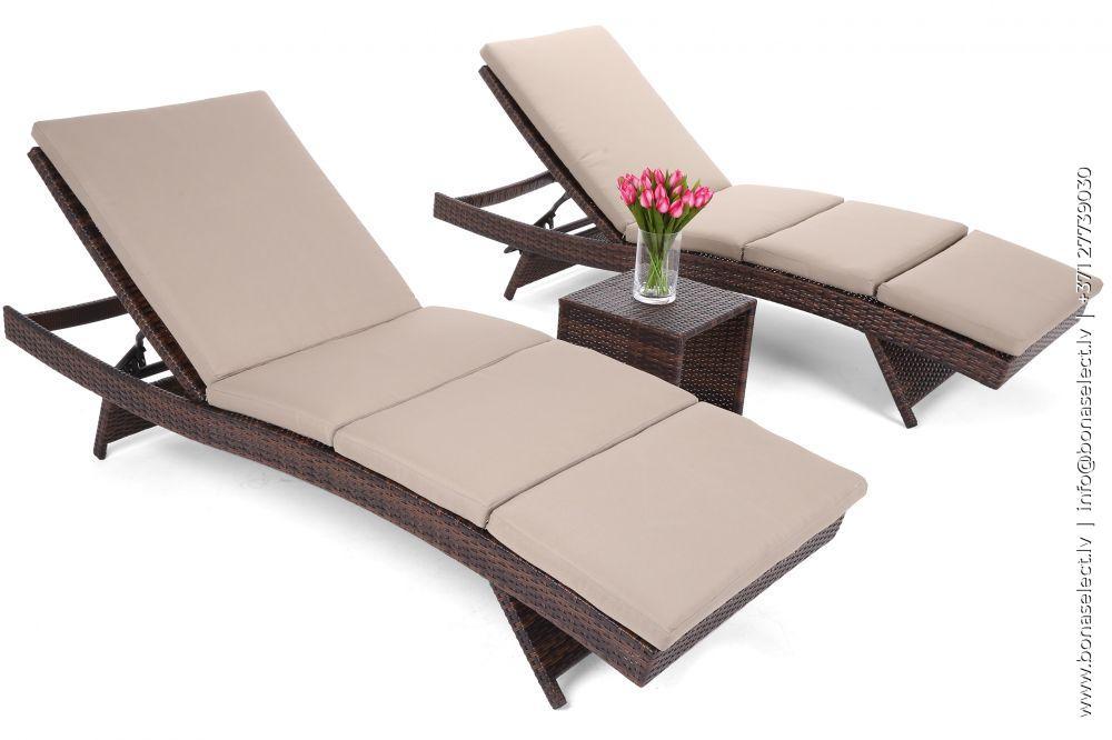 Sauļošanās krēsls Bora Bora Set XL