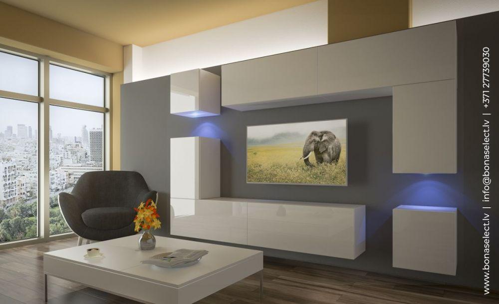 TV galdiņš Next 5 ar LED