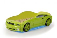 Mustang 3D LED ar stelāžu