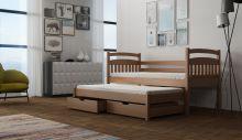 Divstāvu gulta   Rex ar stelāžām