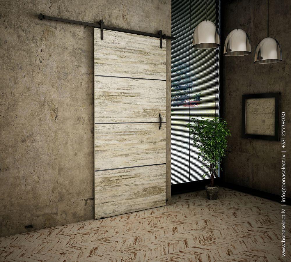 Bīdāmās durvis Retro Plus
