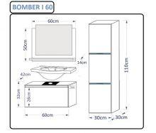 Bomber 1 ar LED