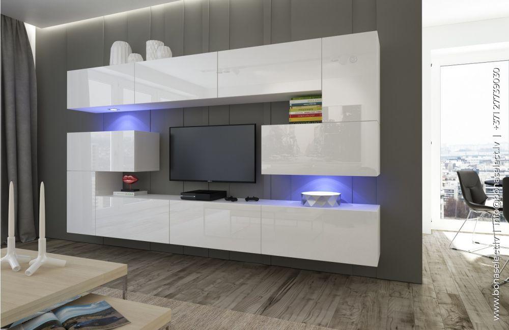 TV galdiņš Next 3 ar LED
