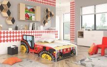 Farmer Tractor Red ar stelāžu