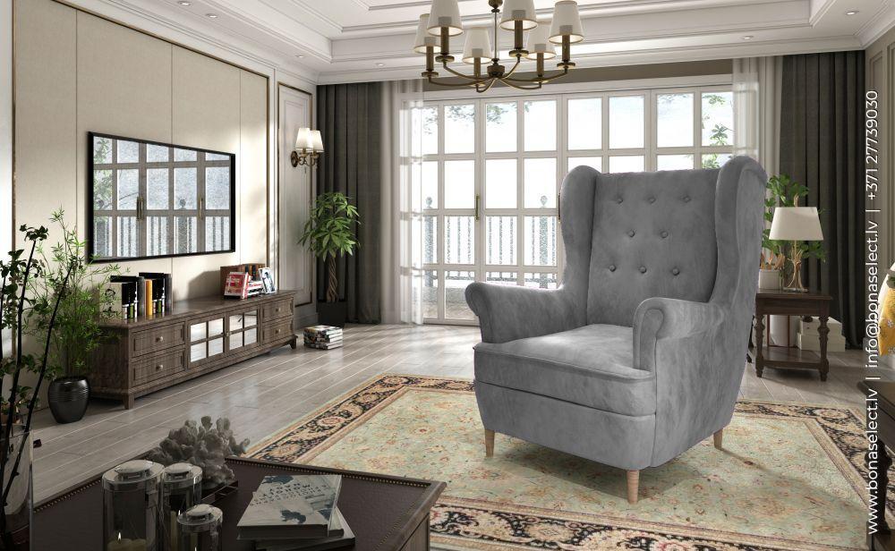 Atpūtas krēsls Aros 1F standard