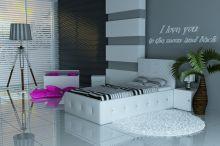 Crystal Lux Leather ar stelāžu