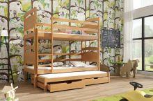 Divstāvu gulta   Fido ar stelāžām