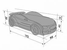 Tesla Sport ar stelāžu