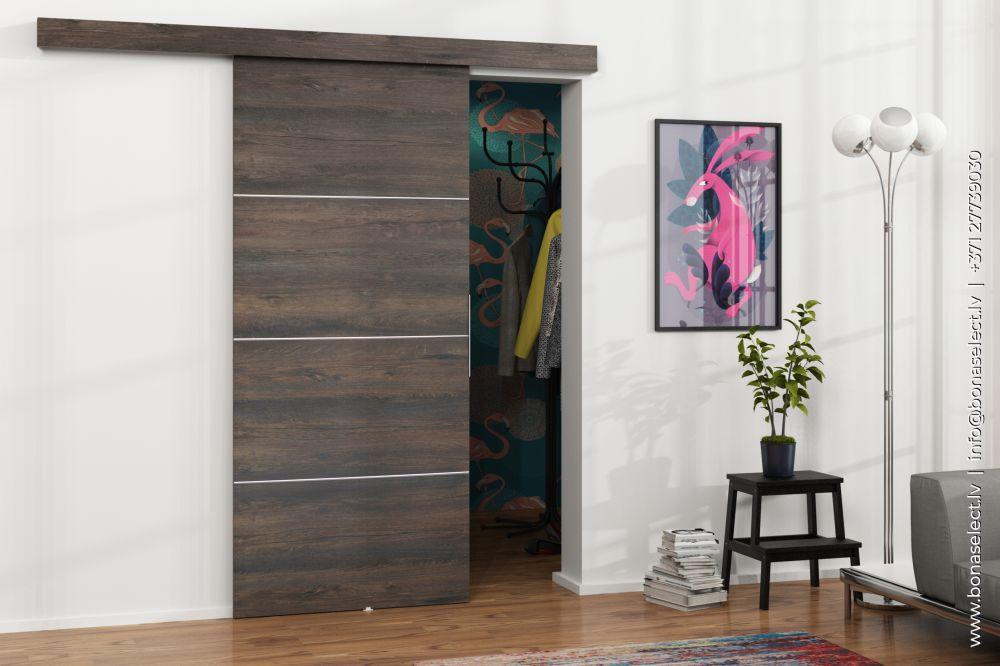 Bīdāmās durvis Malibu Plus
