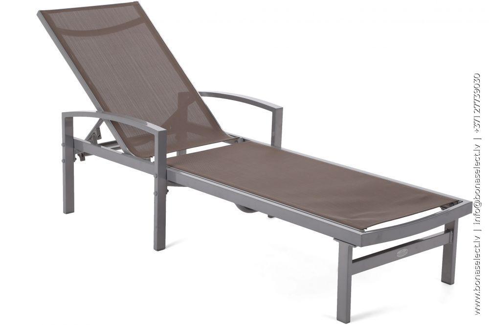 Sauļošanās krēsls Caravela Silver