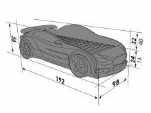 Mazda ar stelāžu