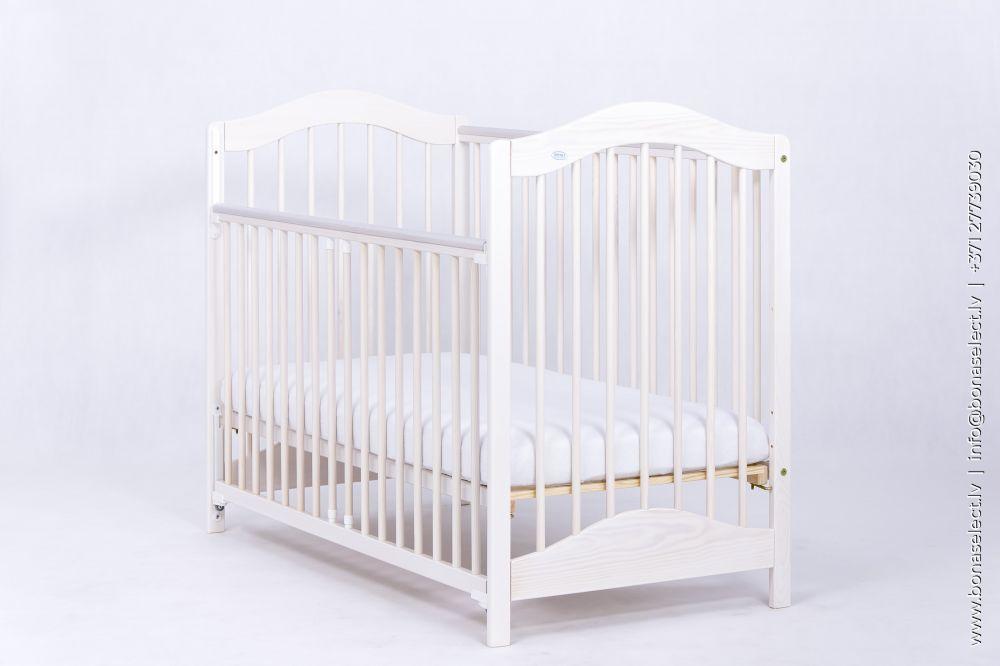 Bērnu gultiņa Jagoda Comfort ar stelāžu