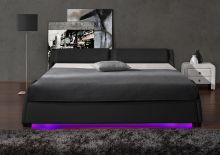 Lozko 868 LED ar stelāžu