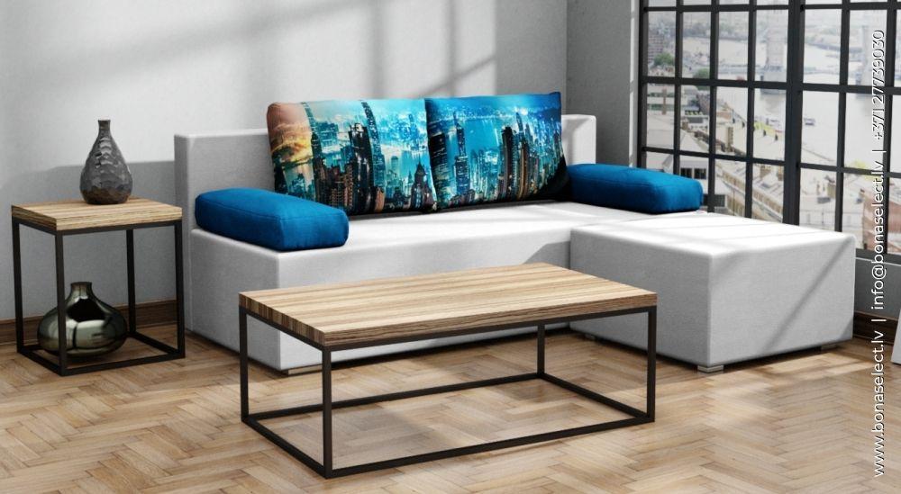 Dīvāns Carlo + Puf