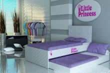 Little Princess Double ar stelāžām
