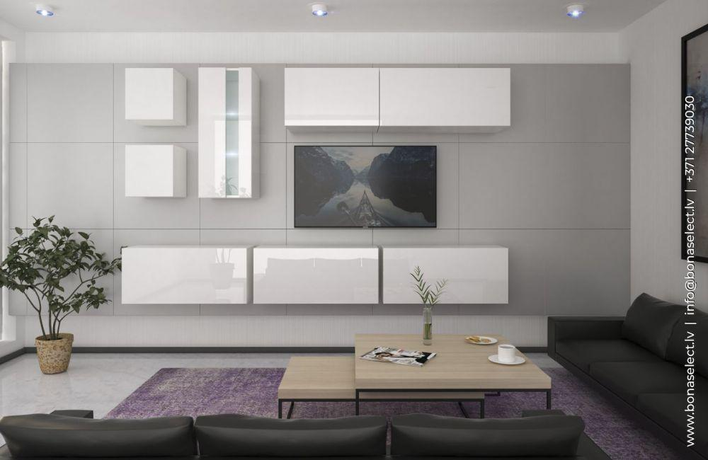 TV galdiņš Next 280 ar LED