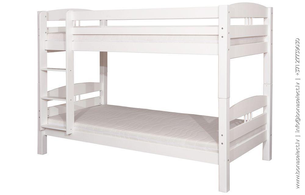 Bērnu gulta Carmen ar stelāžām