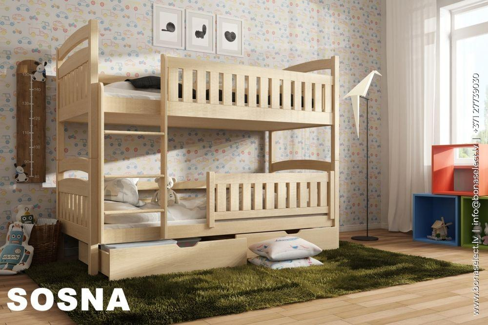 Bērnu gulta Ignas