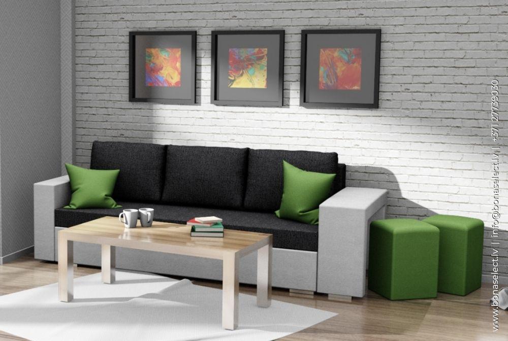 Dīvāns Salsa + Puf