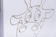 Giraffe ar stelāžu