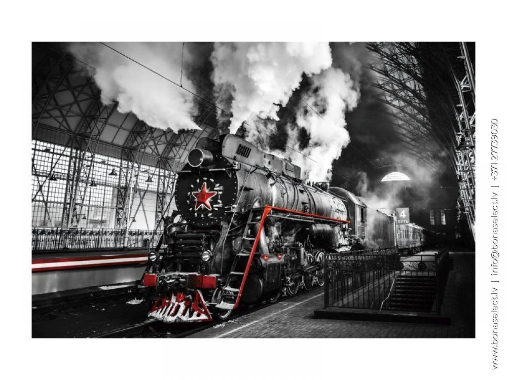 Glezna Locomotive