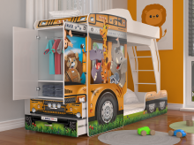 Mega Truck ar stelāžām