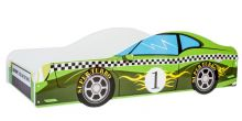Car Green ar stelāžu