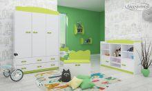 Baby Mix L06 Double 180x90 ar stelāžām