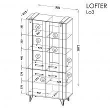 Lofter LO3 ar LED