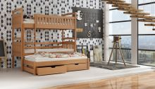 Divstāvu gulta   Arek ar stelāžām