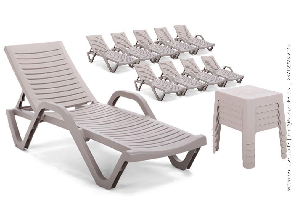 Sauļošanās krēsls Havana XL Set