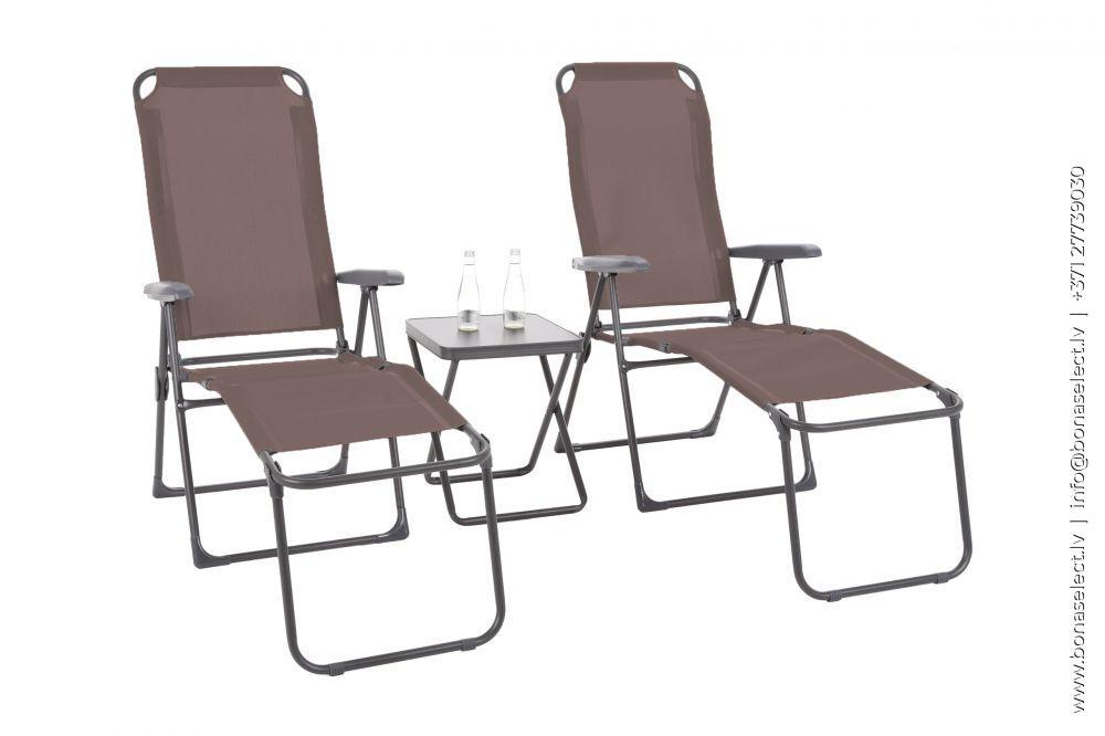 Sauļošanās krēsls Ventura XL Set